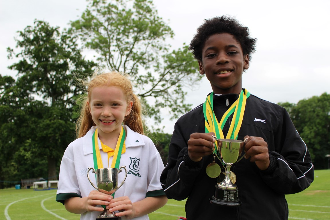 Edgeborough Winners Sports Day