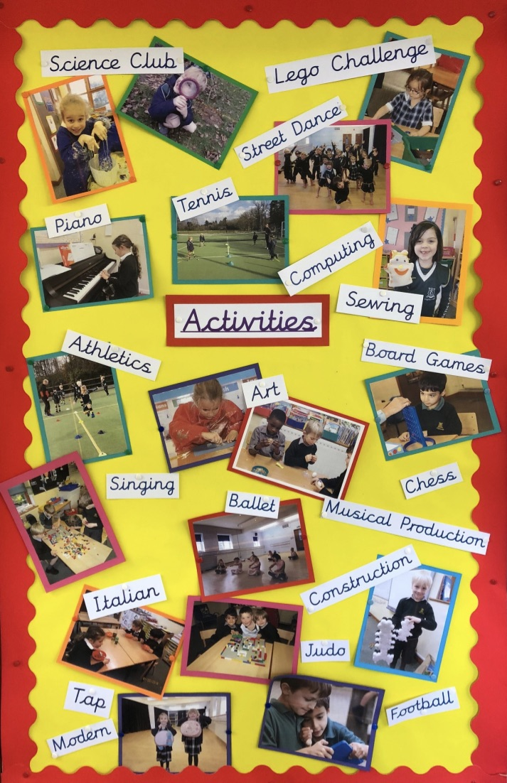 Pre Prep Activities Surrey