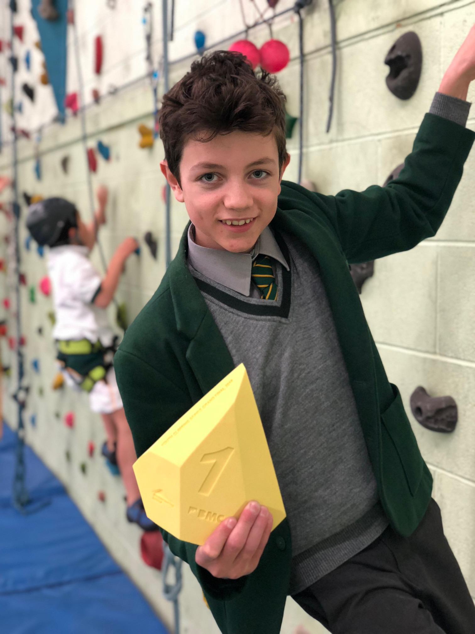 Surrey School Climbing Success